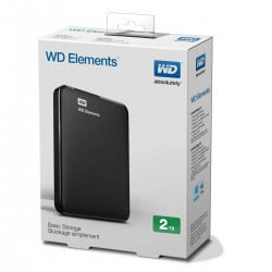 DYSK WD ELEMENTS 2TB  USB 3.0