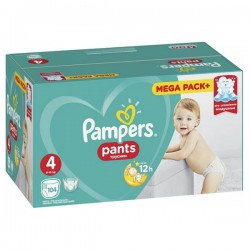 PAMPERS PANTS 4 MEGA PACK...