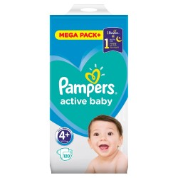 PAMPERS ACTIVE BABY 4+ 120...