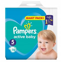 PAMPERS ACTIVE BABY 5 78...
