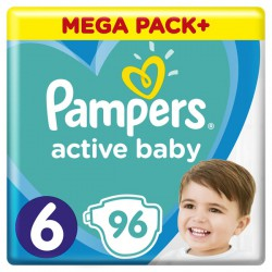 PAMPERS ACTIVE BABY 6 96...