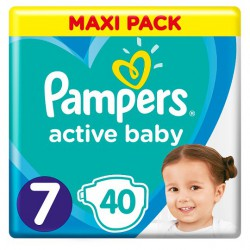 PAMPERS ACTIVE BABY 7 40...