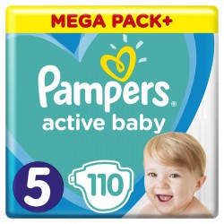 PAMPERS ACTIVE BABY 5 110...