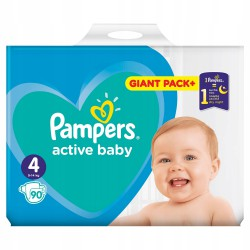 PAMPERS ACTIVE BABY 4 90SZT.