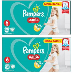 PAMPERS PANTS 6 -15kg 176...