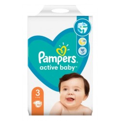 PAMPERS ACTIVE BABY 3 152...