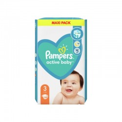 PAMPERS ACTIVE BABY 3 66 SZT