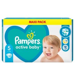 PAMPERS ACTIVE BABY 5 50 SZT
